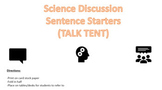 Science Discussion Sentence Starters (with graphics)