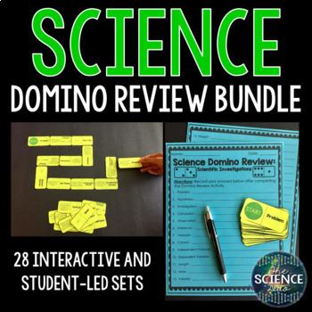 Science Domino Review Bundle (28 Sets)