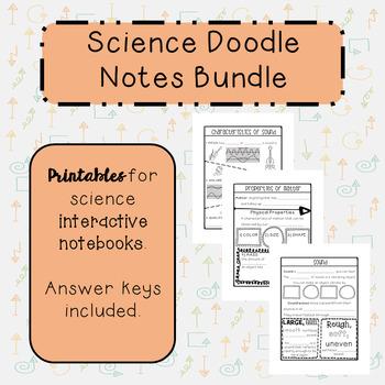 Science Doodle Notes Bundle