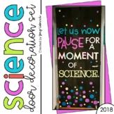 Science Door Decoration Set
