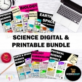 Science Double Digital and Printable Bundle