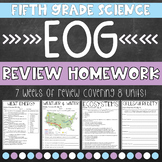 Science EOG Review Homework
