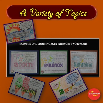 Science - Earthquakes *Interactive Word Wall Activity* NO PREP Student Centered
