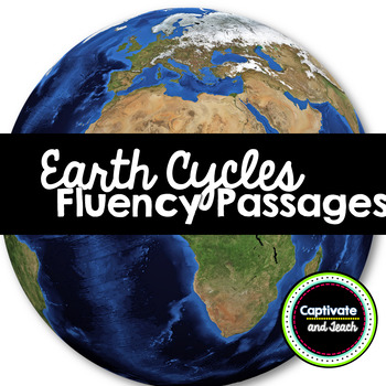 Science Earth's Cycles Fluency Passages