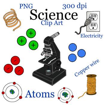 Science Electricity Clip Art bundle