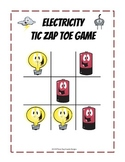 Electricity Game - Tic Tac Toe Fun Science Partner Activity