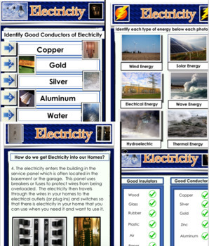 Electricity Powerpoint Presentation - PPT 49 Slides  - Science Education