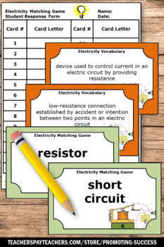 Electricity and Magnetism 5th Grade Science Task Cards Games & Activities