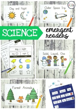 Science Emergent Readers