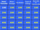 Science Energy Jeopardy Review