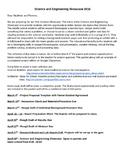 Science & Engineering Showcase Packet