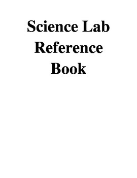 Science Equipment Reference Book