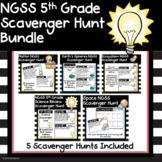 Science Scavenger Hunt 5th Grade NGSS Bundle - Now Digital
