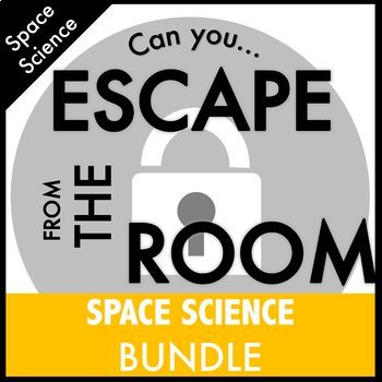 Astronomy Science Escape Room Bundle