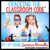 Science Escape Room Bundle 3rd-5th Grade Cracking the Classroom Code®