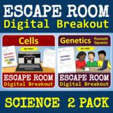 Science Escape Room BUNDLE: Cells & Genetics