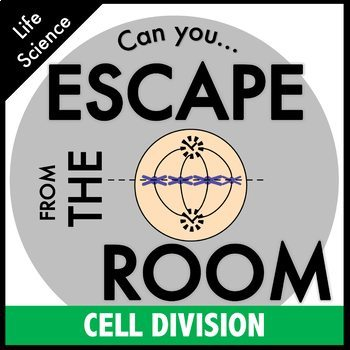 Science Escape Room - Cell Division: Mitosis and Meiosis