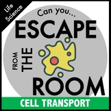 Science Escape Room - Cell Transport: Osmosis and Diffusion