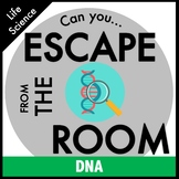 DNA Transcription and Translation Science Escape Room