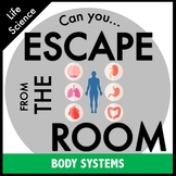 Human Body Systems Science Escape Room