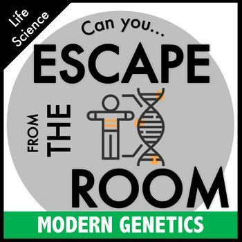 Modern Genetics Science Escape Room