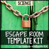 Science Escape Room Template Kit