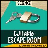 Science Escape Room (editable)