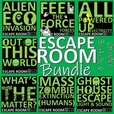 Science Escape Rooms - 7 sessions, each lasting two hours, print and go!