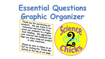 Science Essential Questions Graphic Organizer