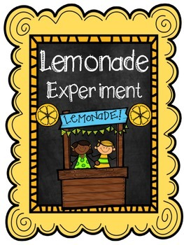 Science Experiment! (Lemonade)