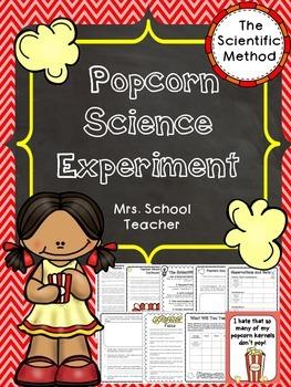 Popcorn Science Experiment