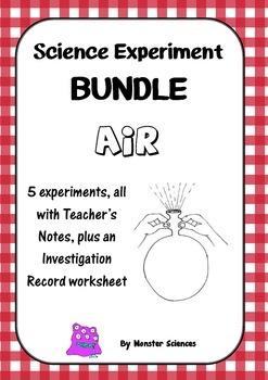 Science Experiment Bundle - Air 1