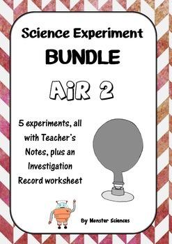 Science Experiment Bundle - Air 2