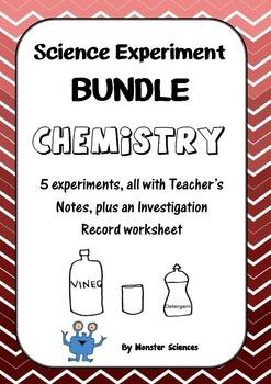 Science Experiment Bundle - Chemistry