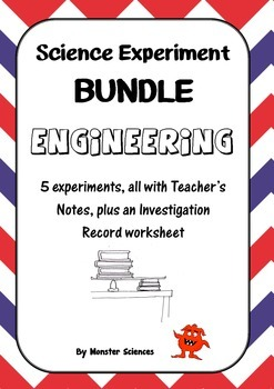 Science Experiment Bundle - Engineering