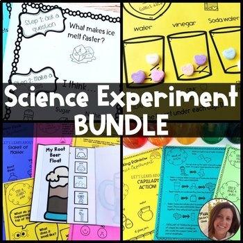 Science Experiment Bundle | Fun Seasonal Science Activities