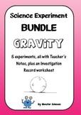 Science Experiment Bundle - Gravity