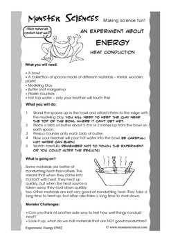 Science Experiment Bundle - Heat