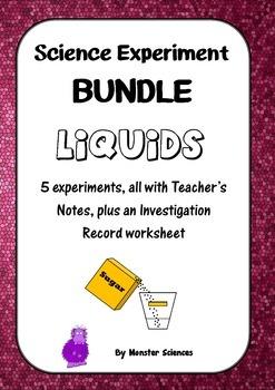 Science Experiment Bundle - Liquids