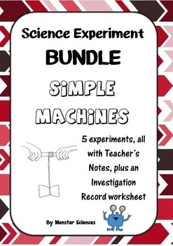 Science Experiment Bundle - Simple Machines 1