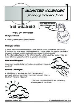 Science Experiment Bundle - Weather