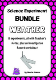 Science Experiment Bundle - Weather