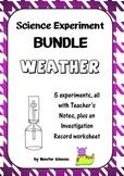 Science Experiment Bundle - Weather 2