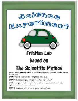 Science Experiment- Friction and the Scientific Method