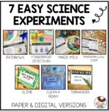 7 Easy Science Experiments To Teach The Scientific Method