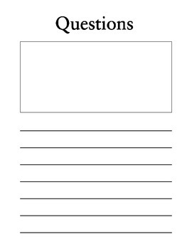 Science Experiment/ Information Writing Booklet