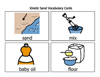 Science Experiment - Kinetic Sand (A.K.A. Sand Cloud Dough)