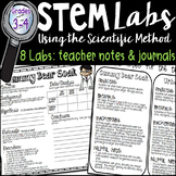 STEM Scientific Method Experiment Labs Grades 3-4