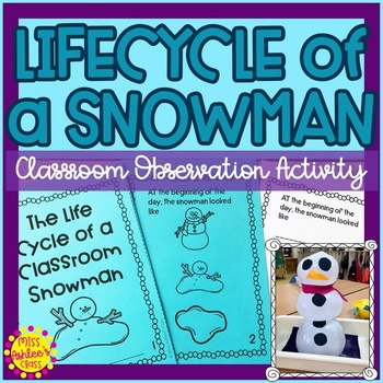 Winter Science Experiment | Lifecycle of a Snowman | Special Education Resource