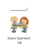 Science Experiment Log for Students
